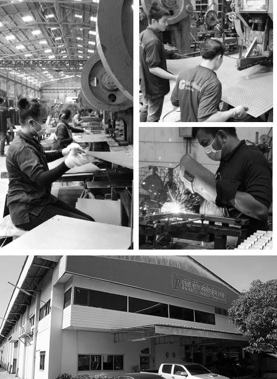 โรงงานผลิตชั้นวางสินค้า พีเอ็นสตีลโปรดักษ์