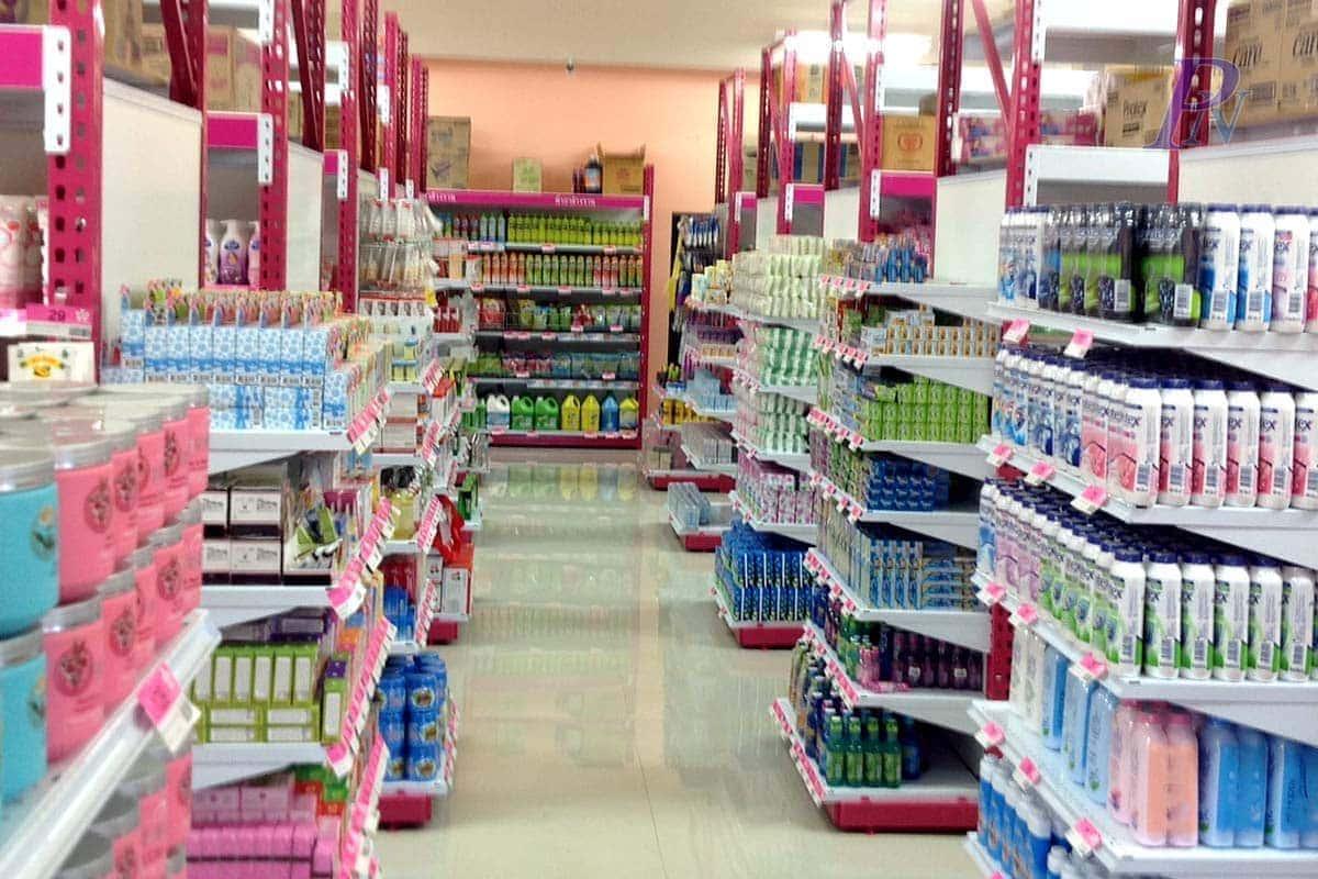 ร้านคลาสสิคซุปเปอร์สโตร์-ชั้นวางสินค้า