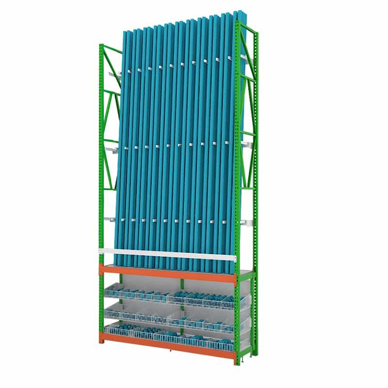 ชั้นโชว์ท่อ PVC และข้อต่อท่อ PVC