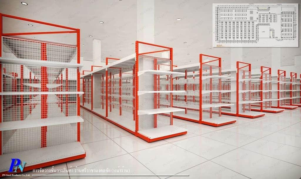 ภาพ3D-ชั้นวางสินค้า-ร้านศรีราชามงคลชัย