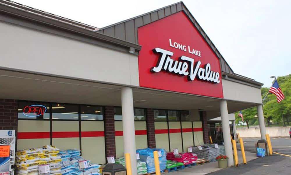 แบบร้านวัสดุก่อสร้าง Long Lake True Value