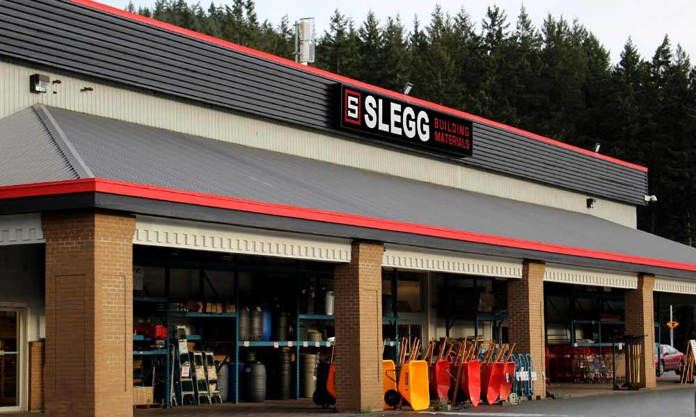 แบบร้านวัสดุก่อสร้าง Slegg