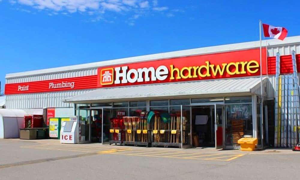 แบบร้านวัสดุก่อสร้าง Home Hardware