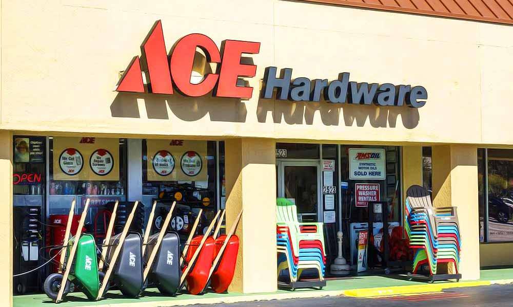 แบบร้านวัสดุก่อสร้าง Ace
