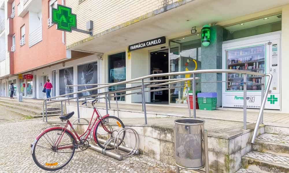 หน้าร้านขายยา Camelo