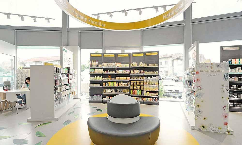 แบบร้านขายยา Alvim โซนสีเหลือง