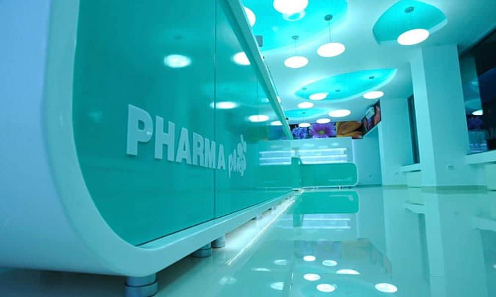 มุมอื่น ๆ ในแบบร้านขายยา Pharma Plus