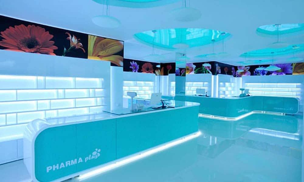 ภาพรวมร้านขายยา Pharma Plus