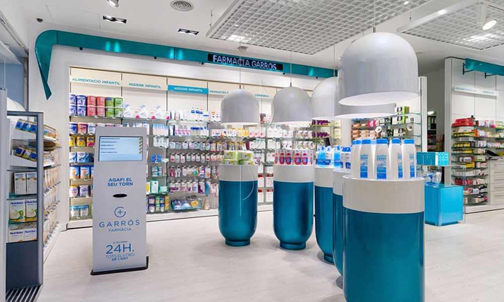 แบบในร้าน Garrós Pharmacy