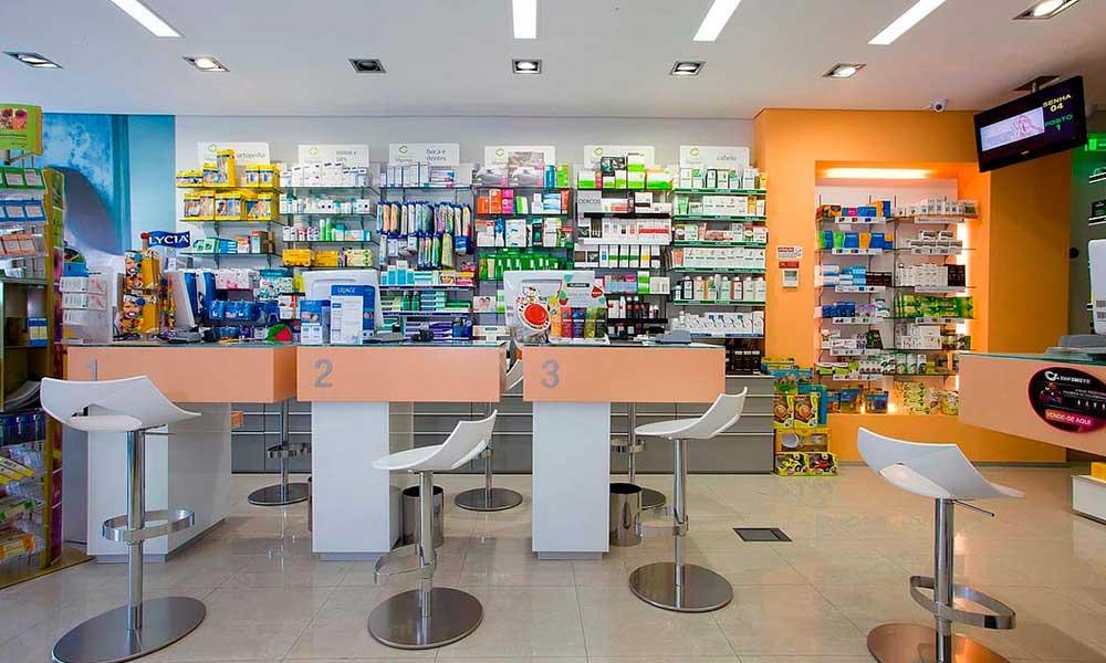 การออกแบบร้านขายยา Farmácia Miguens