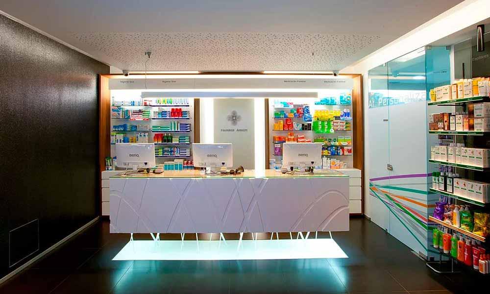 การออกแบบร้านขายยา Amorim