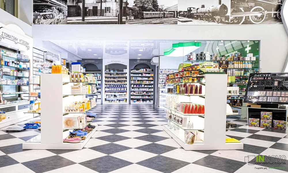 ภาพรวมร้านขายยา Piraeus