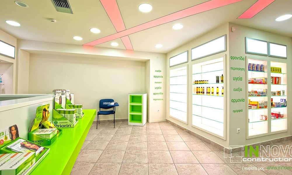การออกแบบร้านขายยาใน Perama