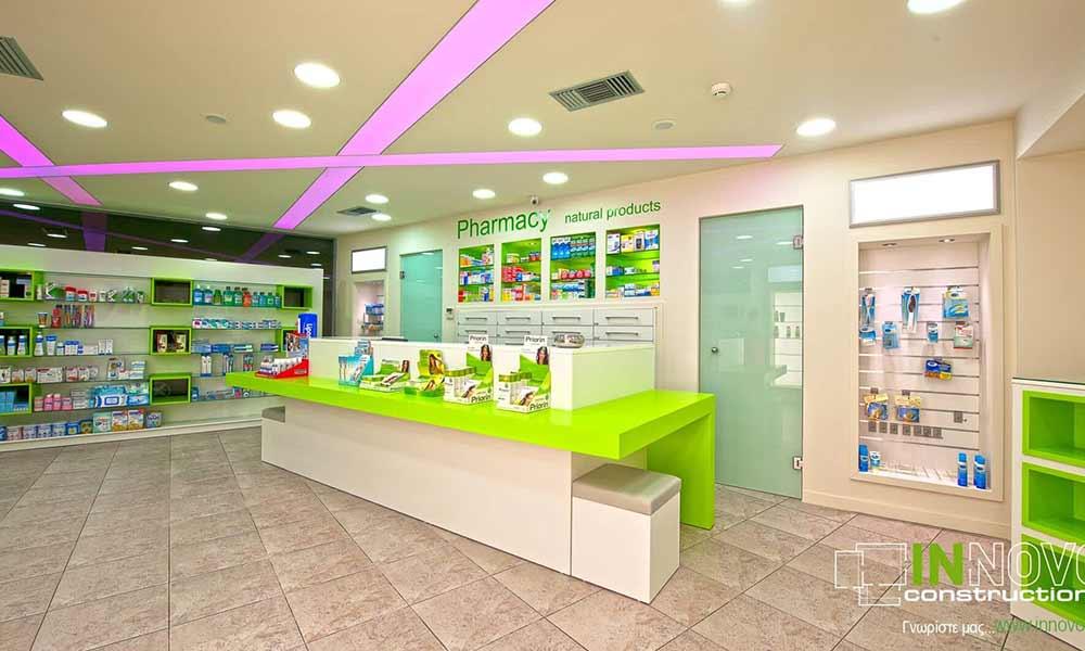 ภาพรวมแบบร้านขายยาใน Perama