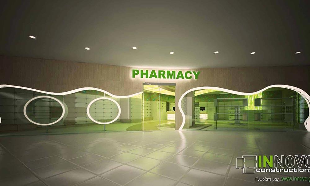 การออกแบบหน้าร้านขายยาในการ์ตาร์