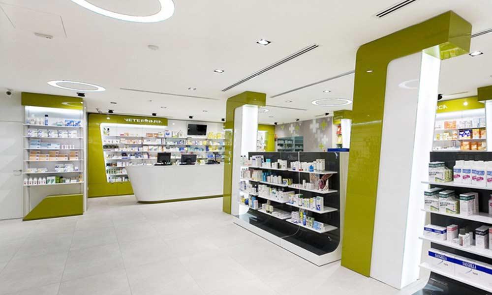 การออกแบบร้านขายยา Verghera