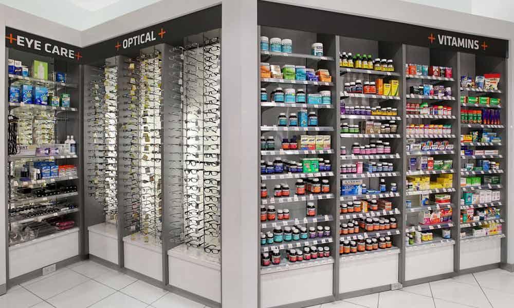 การออกแบบร้านขายยา T3 Pharmacy