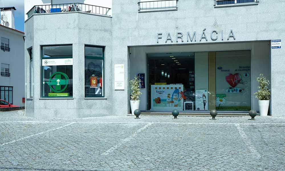 หน้าร้านขายยา Bourroches