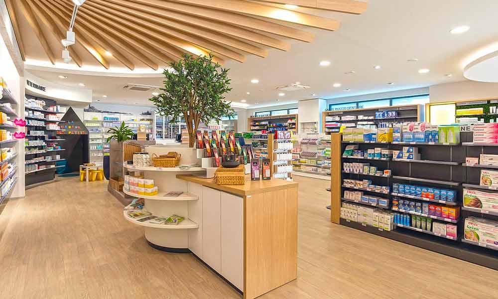 แบบร้านขายยา Pharmacie Du Pole sante มุมอื่น ๆ